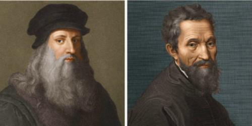 Leonardo e Michelangelo 1.jpg